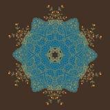 Mandalakort stock illustrationer