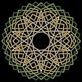 Mandalamodellfärg Fotografering för Bildbyråer