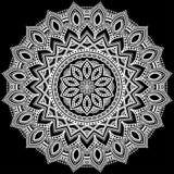 Mandalamodellfärg Royaltyfri Bild