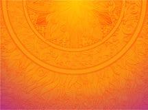 Mandalaornament Stock Afbeelding