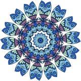 mandalas διακοσμητικός τρύγος στ&o Ασιατικό σχέδιο, διάνυσμα ελεύθερη απεικόνιση δικαιώματος