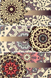 Mandalas cards Stock Photo