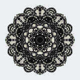 Mandalas collection. Round Ornament Pattern. Vintage decorative elements Stock Photography