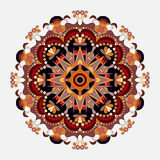 Mandalas collection. Round Ornament Pattern. Vintage decorative elements Stock Image