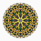 Mandalas collection. Vintage decorative elements Royalty Free Stock Photo