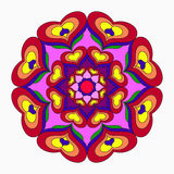 Mandalas collection. Vintage decorative elements Royalty Free Stock Photography