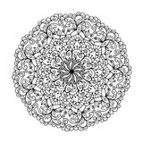 Mandalas for coloring book. Decorative round ornaments. Unusual flower shape. Oriental , Anti-stress therapy patterns. Weave Stock Photos