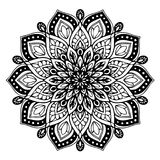 Mandalas for coloring book. Decorative round ornaments. Unusual flower shape. Oriental vector, Anti-stress therapy patterns. Weave royalty free illustration