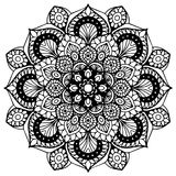 Mandalas for coloring book. Decorative round ornaments. Unusual flower shape. Oriental vector, Anti-stress therapy patterns. Weave Stock Photos