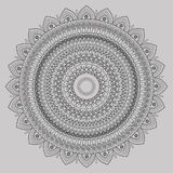 Mandalas for coloring book. Decorative round ornaments. Unusual flower shape. Oriental , Anti-stress therapy patterns. Weave design elements. Yoga logos Royalty Free Illustration