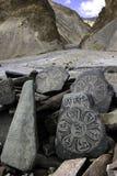 Mandalas en Mani Wall Fotos de archivo