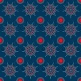 Mandalas pattern. Circular pattern background infinite contrast mandalas texture Royalty Free Stock Images