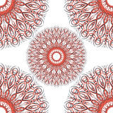 Mandalas pattern. Circular pattern background infinite contrast mandalas texture Stock Photos