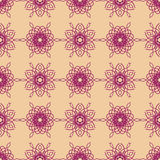 Mandalas pattern. Circular pattern background infinite contrast mandalas texture Stock Photography