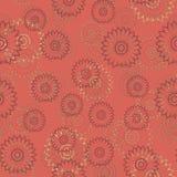 Mandalas pattern. Circular pattern background infinite contrast mandalas texture Stock Photo