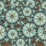 mandalas seamless modell dekorativ elementtappning också vektor för coreldrawillustration Royaltyfri Foto