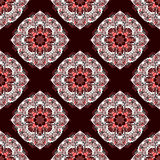 Mandalas. Seamless pattern. Vintage decorative elements. Vector illustration Royalty Free Stock Photo