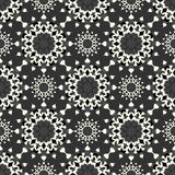 Mandalas Seamless pattern. Vintage decorative elements. Vector illustration Royalty Free Stock Images