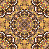 Mandalas. Seamless pattern. Vintage decorative elements. Vector illustration Stock Photography