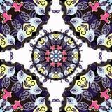 Mandalas. Seamless pattern. Vintage decorative elements. Vector illustration Stock Photo