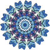 Mandalas. Vintage decorative elements. Oriental pattern, vector Royalty Free Stock Images