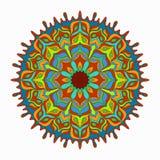 Mandalasammlung Dekorative Elemente der Weinlese Lizenzfreie Stockbilder