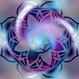 Mandalasymbol Royaltyfria Bilder