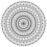 Mandalateckning Arkivbild