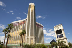 Mandalay Bay Casino and Hotel luxury resorts in Las Vegas Stock Image