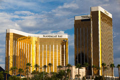 Mandalay Bay in Las Vegas. Las Vegas, USA - JULY 7 ,2011:Mandalay Bay in Las Vegas. Mandalay Bay Resort and Casino in Las Vegas offers unmatched luxury, fine royalty free stock images