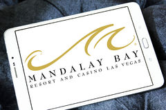 Mandalay Bay resort and casino las vegas logo Stock Photos