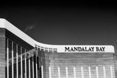 The Mandalay Bay Resort and Casino in Las Vegas royalty free stock photography