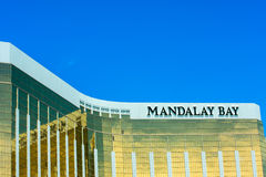 The Mandalay Bay Resort and Casino in Las Vegas Royalty Free Stock Image