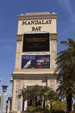 Mandalay Bay Sign in Las Vegas, NV on April 19, 2013 Royalty Free Stock Photos