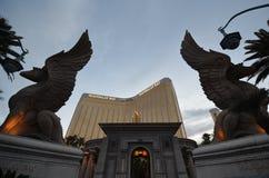 Mandalay Bay, statue, landmark, monument, sculpture royalty free stock photo