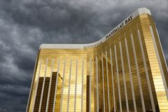 Mandalay Bay - Stormy Weather Royalty Free Stock Photo
