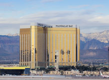 A Mandalay Bay View from McCarran International Airport Stock Photos