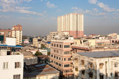 Mandalay buildings, Burma Royalty Free Stock Images