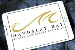 Mandalay fjärdsemesterort och kasinoLas Vegas logo Arkivfoton
