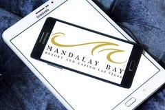 Mandalay fjärdsemesterort och kasinoLas Vegas logo Royaltyfria Foton