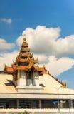 Mandalay flygplats, Myanmar Arkivbilder