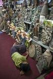 Mandalay - goods factory Royalty Free Stock Photo