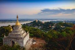 Mandalay-Hügel stockfoto
