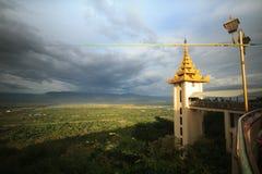 Mandalay-Hügel Lizenzfreie Stockfotos