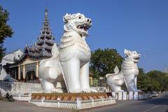 Mandalay Hill - Mandalay - Myanmar (Burma). Royalty Free Stock Images