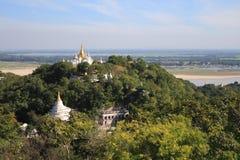 Mandalay Hill in Myanmar Royalty Free Stock Image