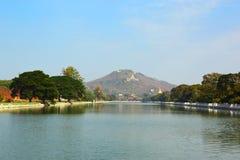 Mandalay Hill in Myanmar Royalty Free Stock Photos