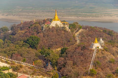 Mandalay hill Stock Image