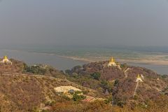 Mandalay hill Stock Images