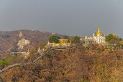 Mandalay hill Royalty Free Stock Images